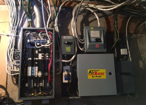 200 Amp Panel Change - Before